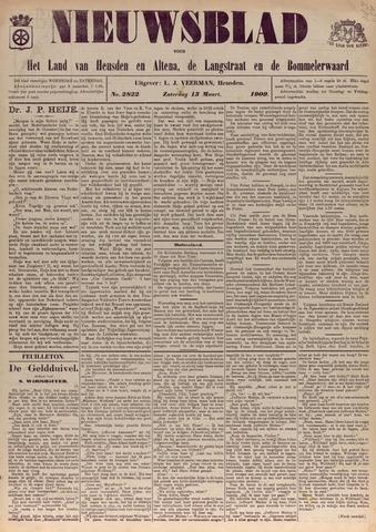 Nieuwsblad het land van Heusden en Altena de Langstraat en de Bommelerwaard 1909-03-13