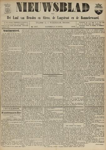 Nieuwsblad het land van Heusden en Altena de Langstraat en de Bommelerwaard 1893-07-08