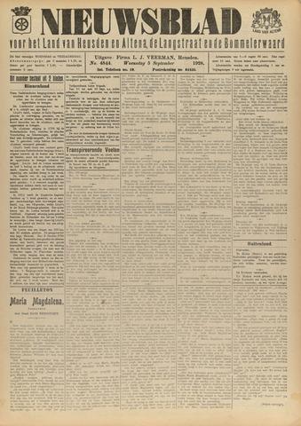 Nieuwsblad het land van Heusden en Altena de Langstraat en de Bommelerwaard 1928-09-05