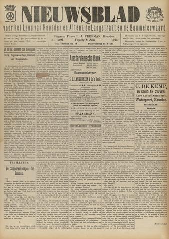 Nieuwsblad het land van Heusden en Altena de Langstraat en de Bommelerwaard 1923-06-08