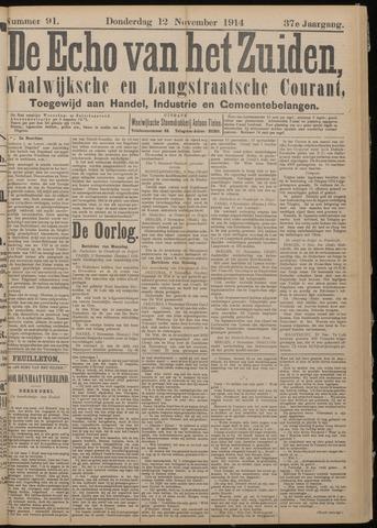Echo van het Zuiden 1914-11-12
