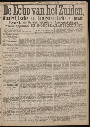 Echo van het Zuiden 1906-02-25
