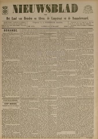 Nieuwsblad het land van Heusden en Altena de Langstraat en de Bommelerwaard 1899-03-04