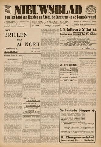 Nieuwsblad het land van Heusden en Altena de Langstraat en de Bommelerwaard 1936-08-07
