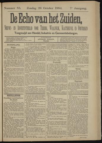 Echo van het Zuiden 1884-10-26