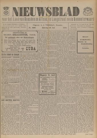 Nieuwsblad het land van Heusden en Altena de Langstraat en de Bommelerwaard 1919-07-26