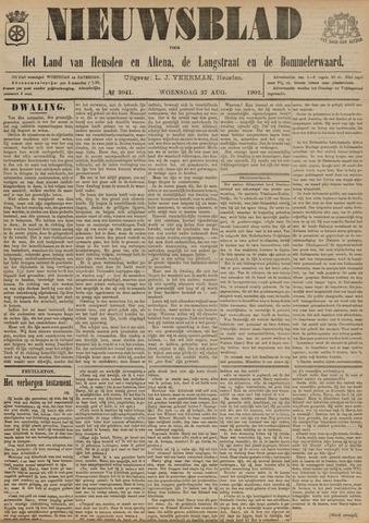 Nieuwsblad het land van Heusden en Altena de Langstraat en de Bommelerwaard 1902-08-27