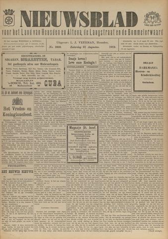 Nieuwsblad het land van Heusden en Altena de Langstraat en de Bommelerwaard 1919-08-31
