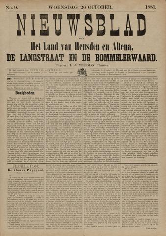 Nieuwsblad het land van Heusden en Altena de Langstraat en de Bommelerwaard 1881-10-26