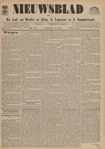 Nieuwsblad het land van Heusden en Altena de Langstraat en de Bommelerwaard 1899-08-26