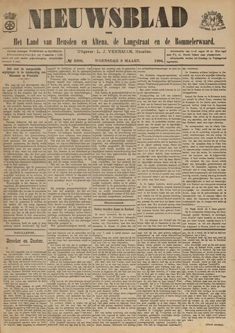 Nieuwsblad het land van Heusden en Altena de Langstraat en de Bommelerwaard 1904-03-09