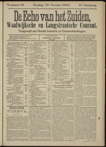 Echo van het Zuiden 1888-10-28