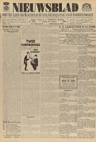 Nieuwsblad het land van Heusden en Altena de Langstraat en de Bommelerwaard 1929-01-18