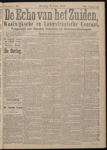 Echo van het Zuiden 1915-06-06