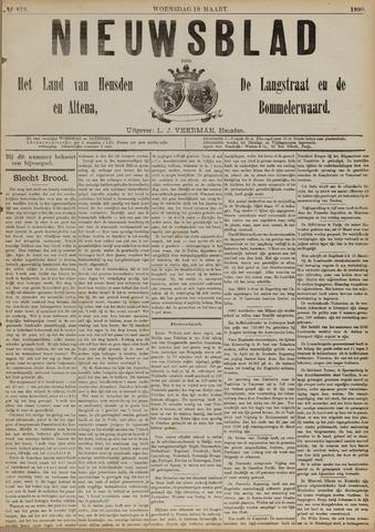 Nieuwsblad het land van Heusden en Altena de Langstraat en de Bommelerwaard 1890-03-19