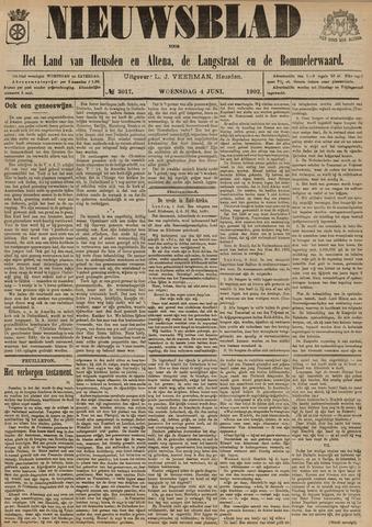 Nieuwsblad het land van Heusden en Altena de Langstraat en de Bommelerwaard 1902-06-04
