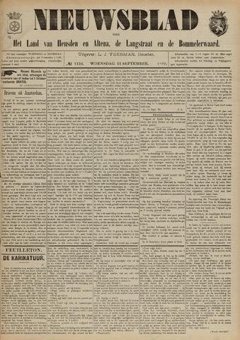 Nieuwsblad het land van Heusden en Altena de Langstraat en de Bommelerwaard 1892-09-21