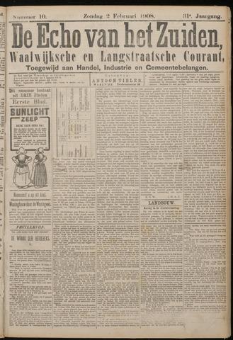 Echo van het Zuiden 1908-02-02
