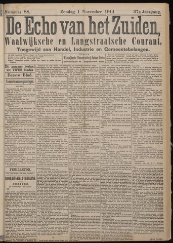 Echo van het Zuiden 1914-11-01