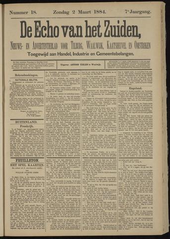 Echo van het Zuiden 1884-03-02