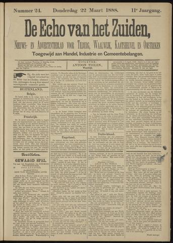 Echo van het Zuiden 1888-03-22