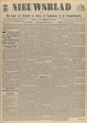 Nieuwsblad het land van Heusden en Altena de Langstraat en de Bommelerwaard 1911-12-23