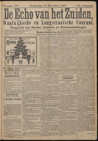 Echo van het Zuiden 1913-12-25