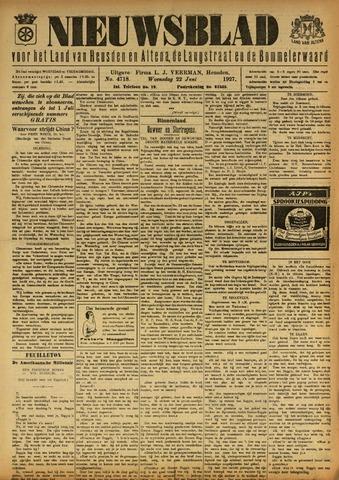 Nieuwsblad het land van Heusden en Altena de Langstraat en de Bommelerwaard 1927-06-22