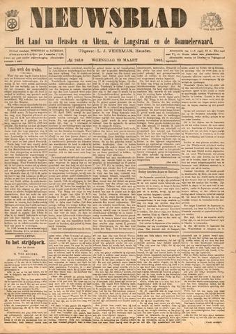 Nieuwsblad het land van Heusden en Altena de Langstraat en de Bommelerwaard 1905-03-29