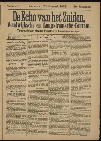 Echo van het Zuiden 1897-01-28