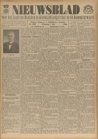 Nieuwsblad het land van Heusden en Altena de Langstraat en de Bommelerwaard 1924-05-07