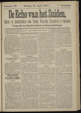 Echo van het Zuiden 1884-04-13