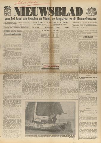 Nieuwsblad het land van Heusden en Altena de Langstraat en de Bommelerwaard 1941-06-11