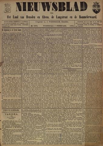Nieuwsblad het land van Heusden en Altena de Langstraat en de Bommelerwaard 1894-02-07