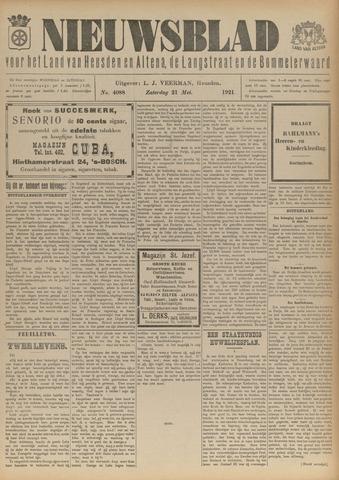 Nieuwsblad het land van Heusden en Altena de Langstraat en de Bommelerwaard 1921-05-21