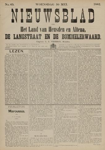 Nieuwsblad het land van Heusden en Altena de Langstraat en de Bommelerwaard 1882-05-10