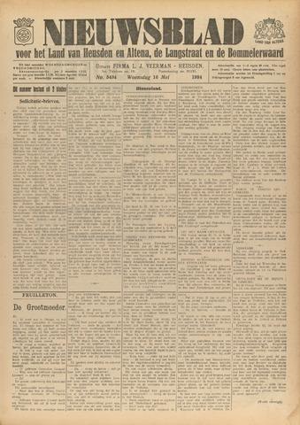 Nieuwsblad het land van Heusden en Altena de Langstraat en de Bommelerwaard 1934-05-16