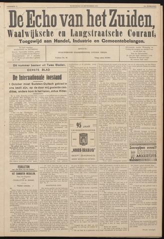 Echo van het Zuiden 1938-09-28