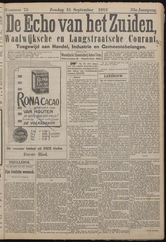 Echo van het Zuiden 1912-09-15