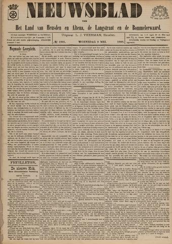 Nieuwsblad het land van Heusden en Altena de Langstraat en de Bommelerwaard 1900-05-09