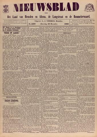 Nieuwsblad het land van Heusden en Altena de Langstraat en de Bommelerwaard 1906-12-22