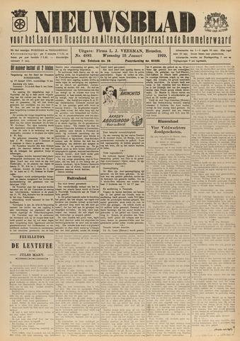 Nieuwsblad het land van Heusden en Altena de Langstraat en de Bommelerwaard 1929-01-23