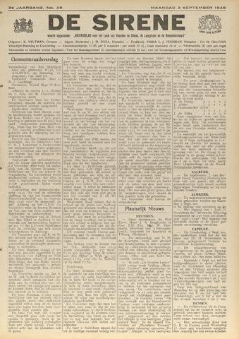 De Sirene 1946-09-02