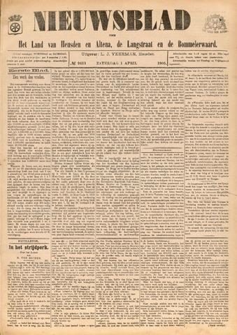 Nieuwsblad het land van Heusden en Altena de Langstraat en de Bommelerwaard 1905-04-01
