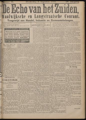 Echo van het Zuiden 1905-08-03