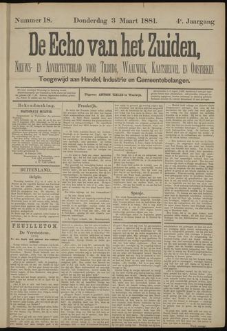 Echo van het Zuiden 1881-03-03