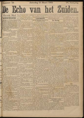 Echo van het Zuiden 1905-03-25