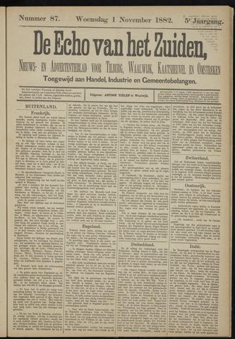 Echo van het Zuiden 1882-11-02