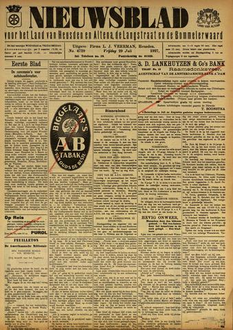 Nieuwsblad het land van Heusden en Altena de Langstraat en de Bommelerwaard 1927-07-29