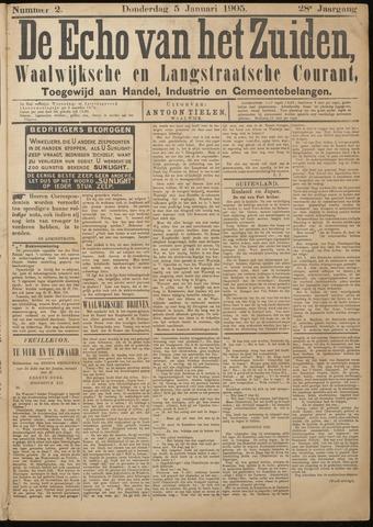 Echo van het Zuiden 1905-01-05